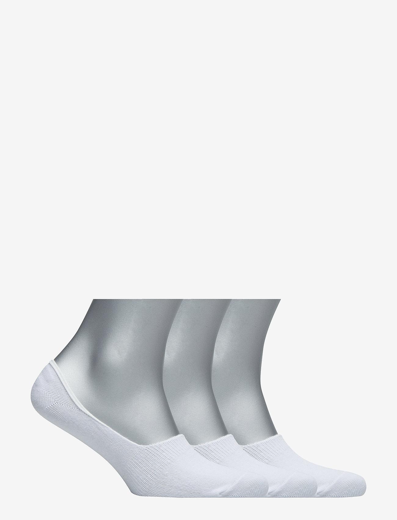 Boozt Merchandise - 3 pack socklets – Men - ankle socks - white - 1