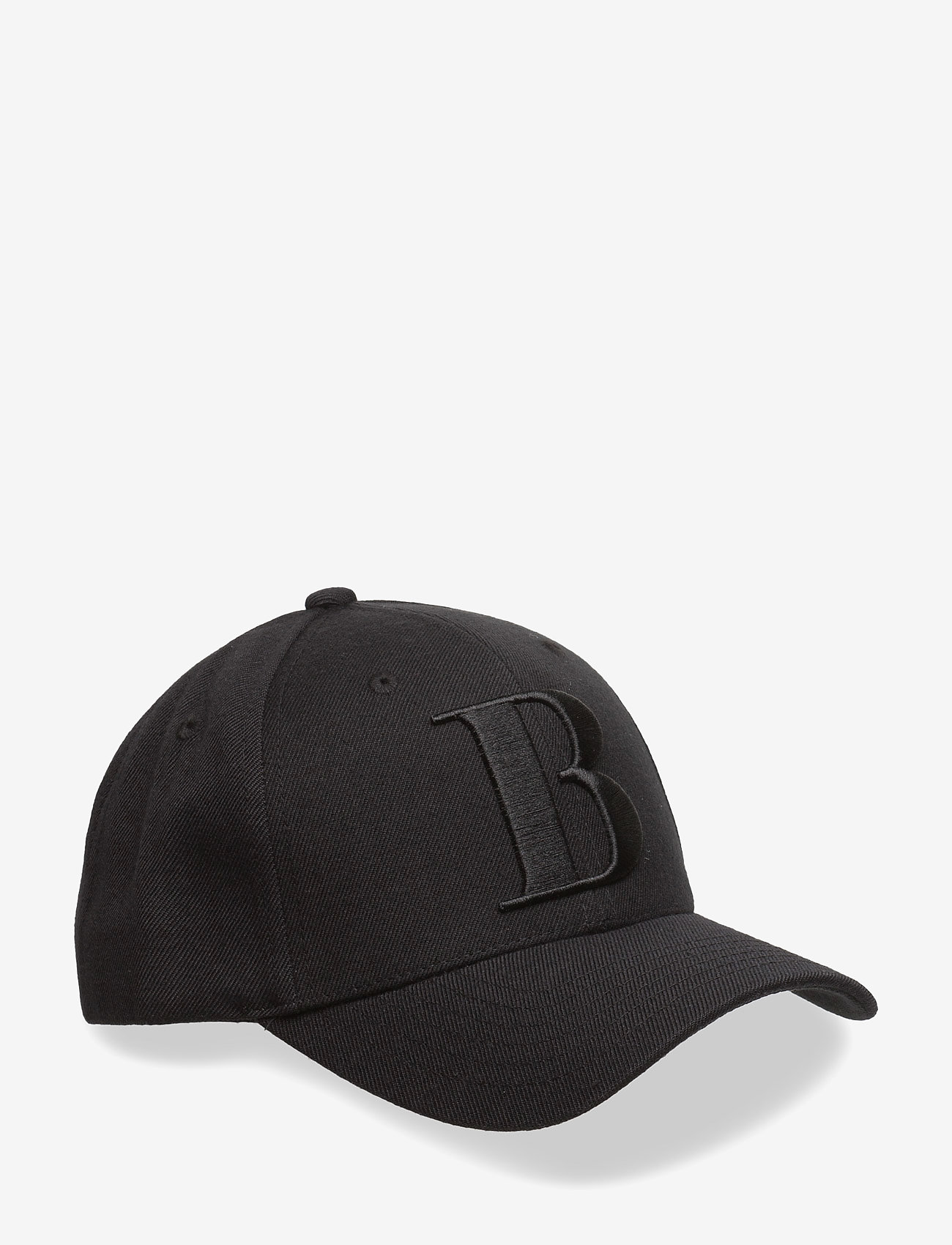 Boozt Merchandise - Snapbackcapw.3Dlogo - caps - black - 0