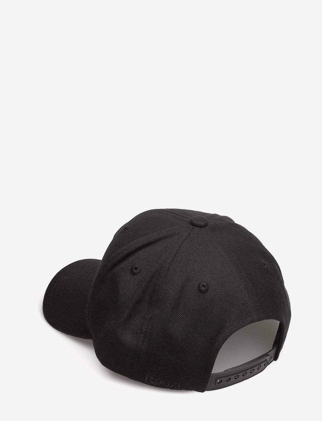 Boozt Merchandise - Snapbackcapw.3Dlogo - caps - black - 1