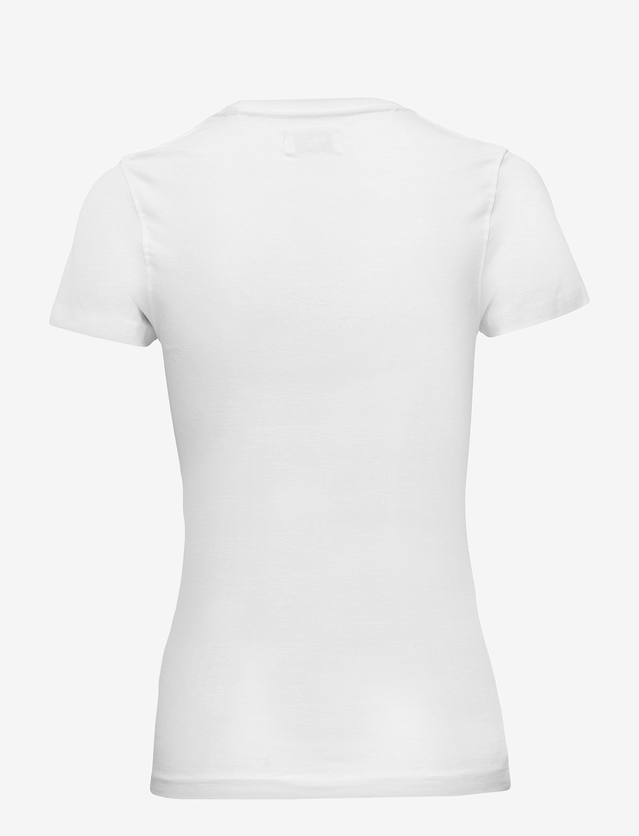 Boozt Merchandise - Womens stretch O-neck tees/s - t-shirts - white - 1