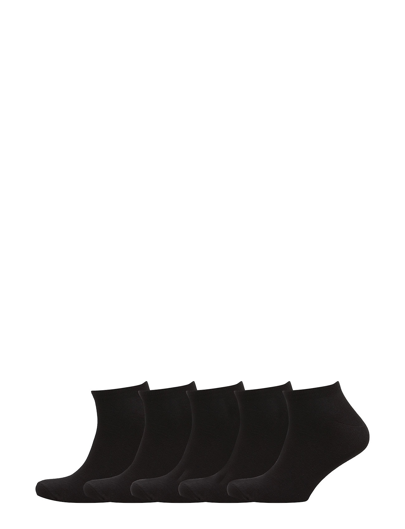 Boozt Merchandise 5 pack trainers – Men - BLACK