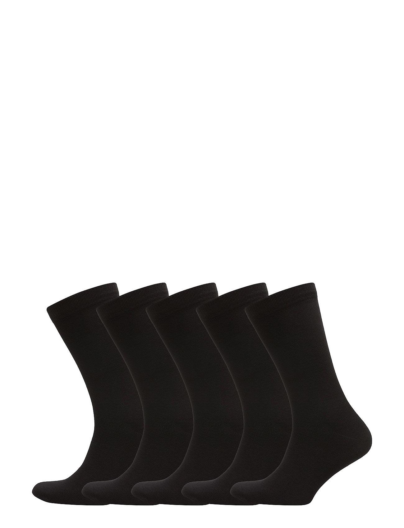 Boozt Merchandise Aarhus 5-pack sock - BLACK
