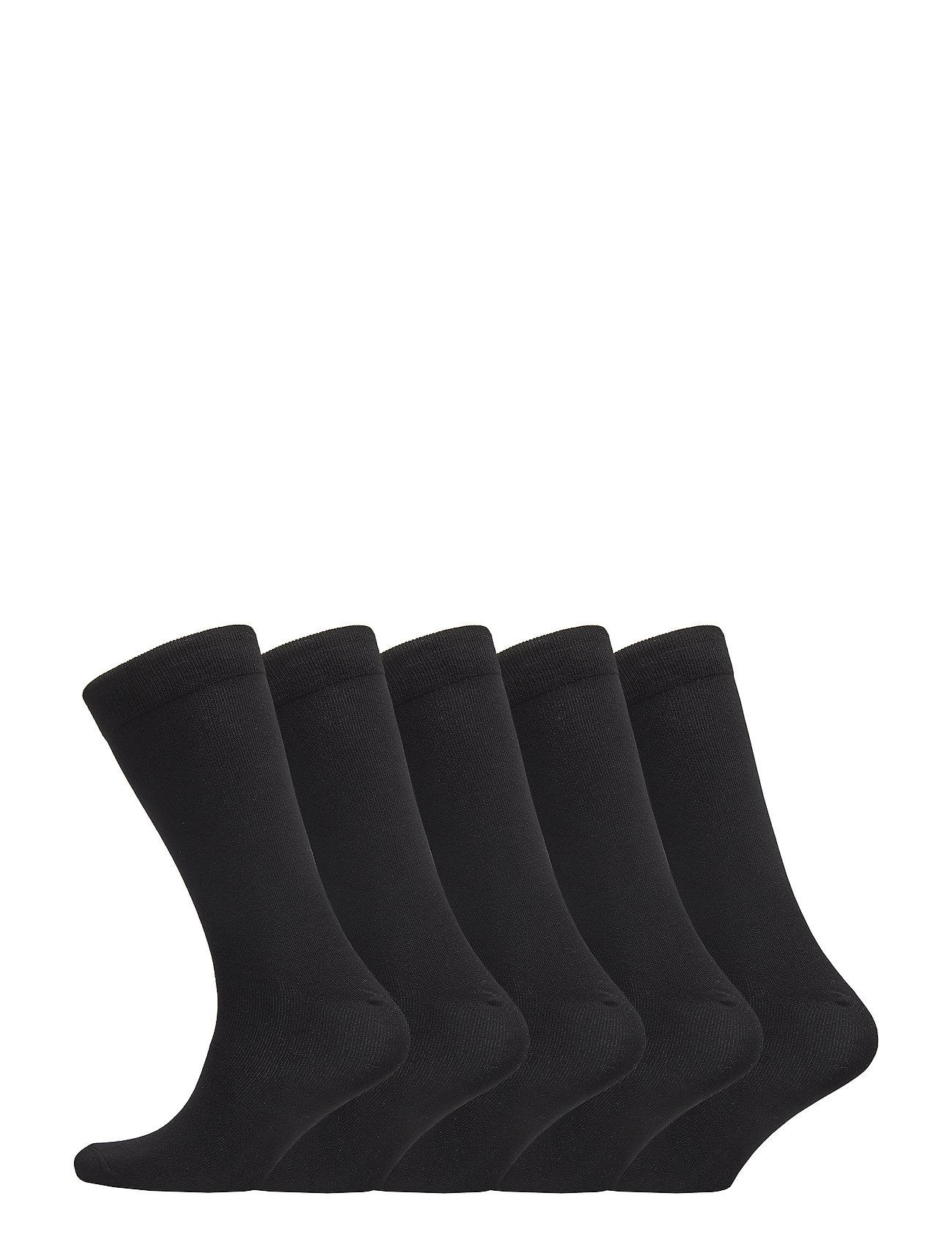 Boozt Merchandise 5 pack regular sock – Women - BLACK