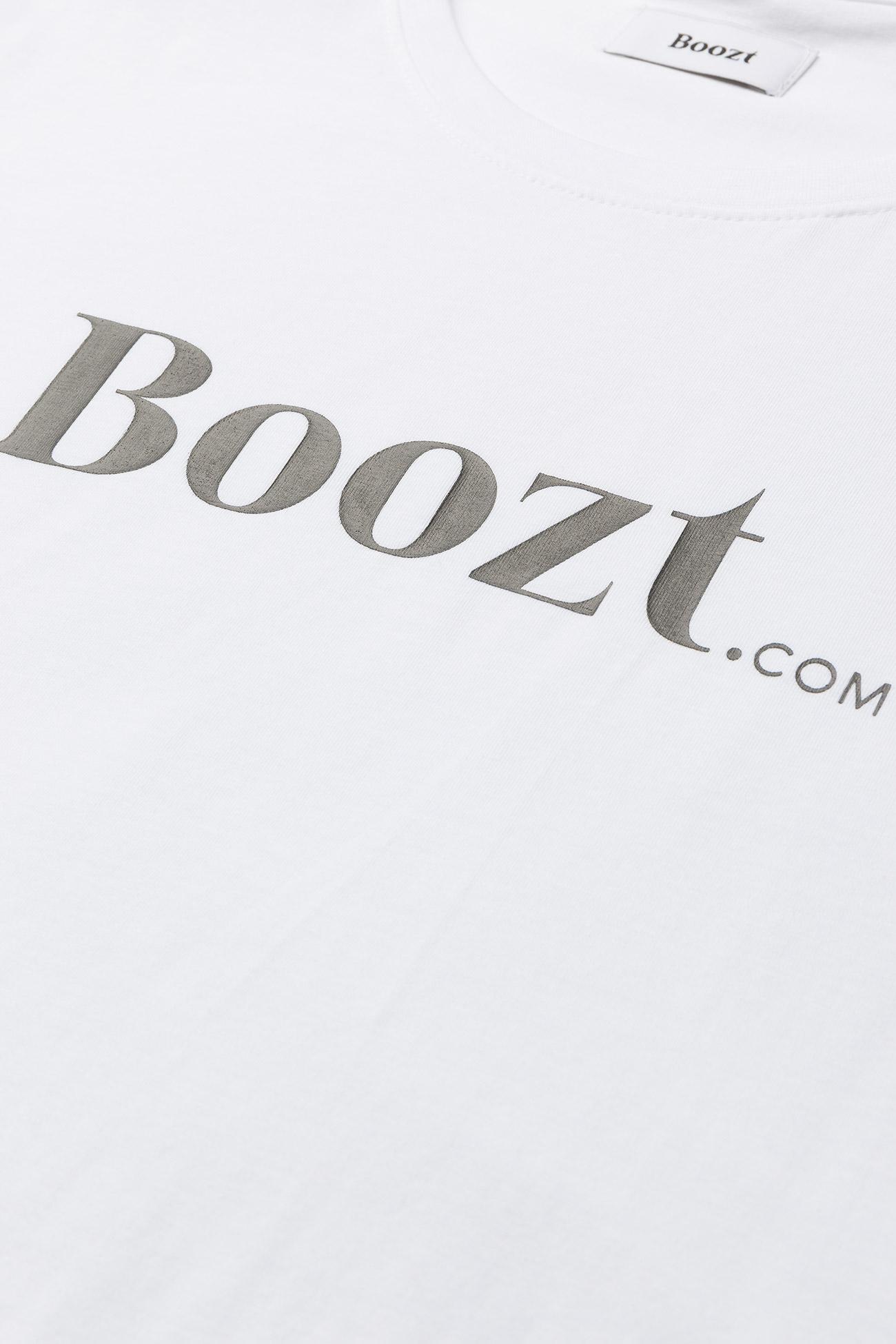 Boozt Merchandise Mens stretch O-neck tee s/s - T-skjorter WHITE - Menn Klær