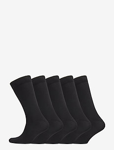 5 pack regular sock – Women - BLACK