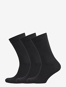 3 pack regular wool sock – Men - BLACK