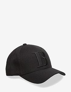 Snapbackcapw.3Dlogo - czapki - black