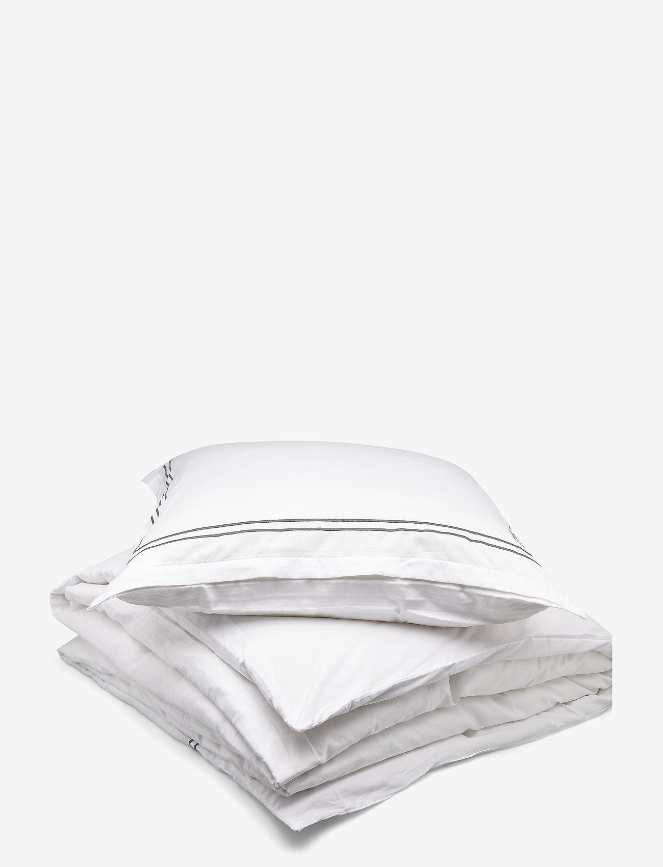 Borås Cotton - Lux - sänglakan - dark grey - 1
