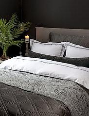 Borås Cotton - Lux - sänglakan - dark grey - 2