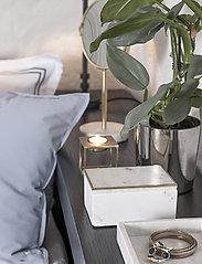 Borås Cotton - Lux - sänglakan - dark grey - 3