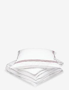 Lux - duvet covers - aubergine
