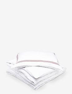 Lux - pillowcases - aubergine