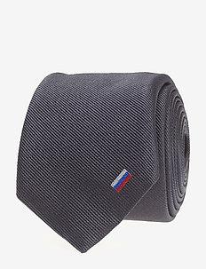 Tie 6 cm - slips - dark blue