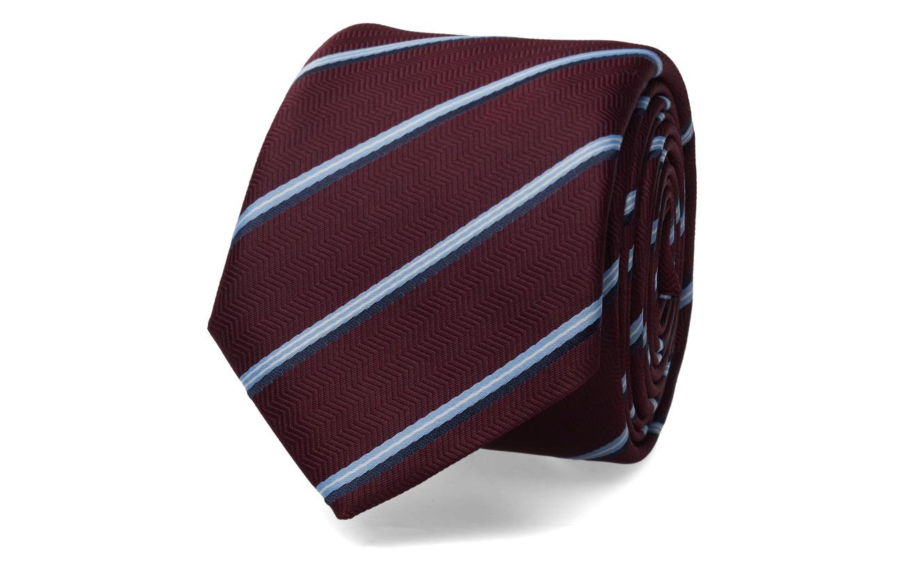 BOSS Business Wear Tie 6 cm - DARK RED