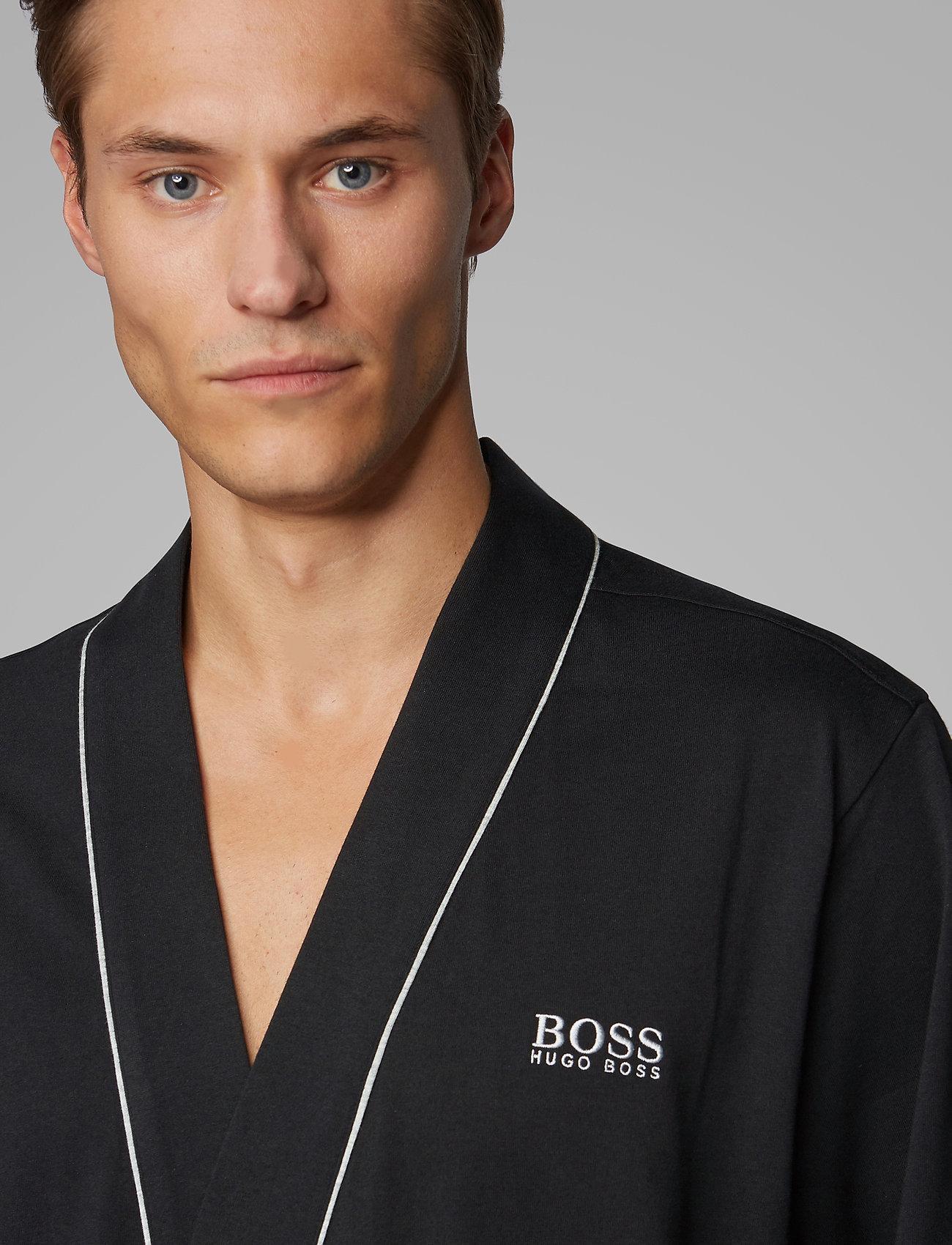 BOSS - Kimono BM - morgenkåper - black - 0