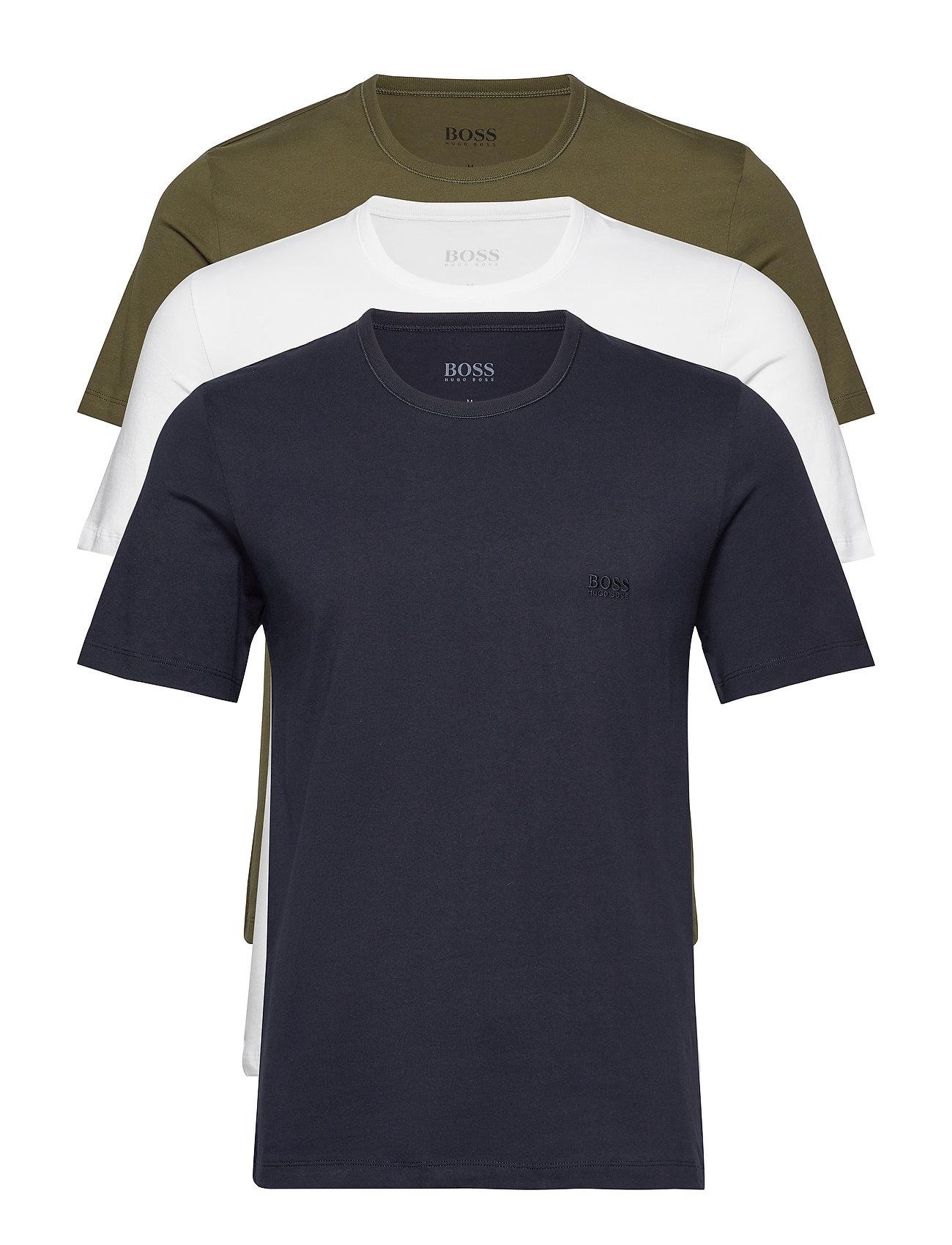 BOSS Business T-Shirt RN 3P CO - OPEN GREEN