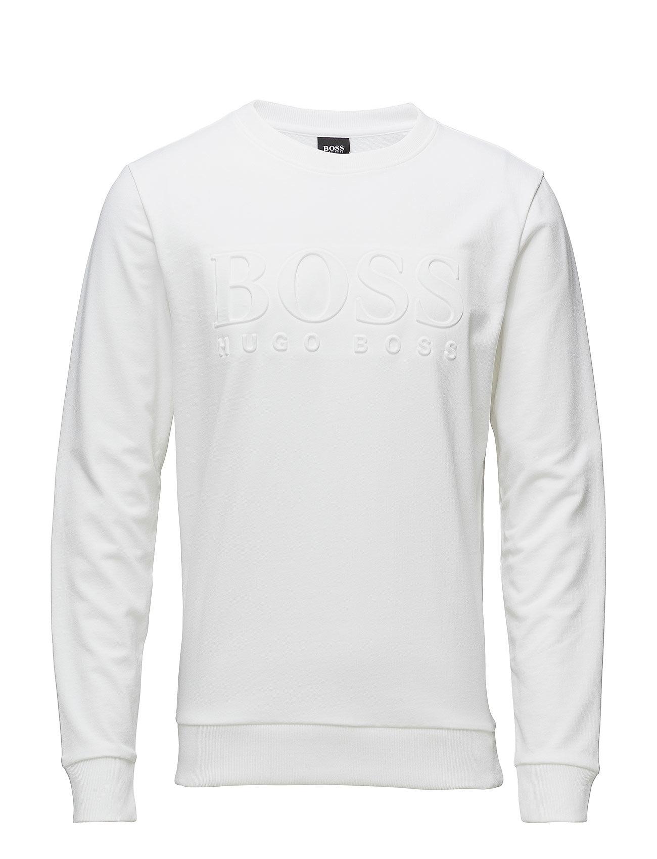 BOSS Business Heritage Sweatshirt - WHITE