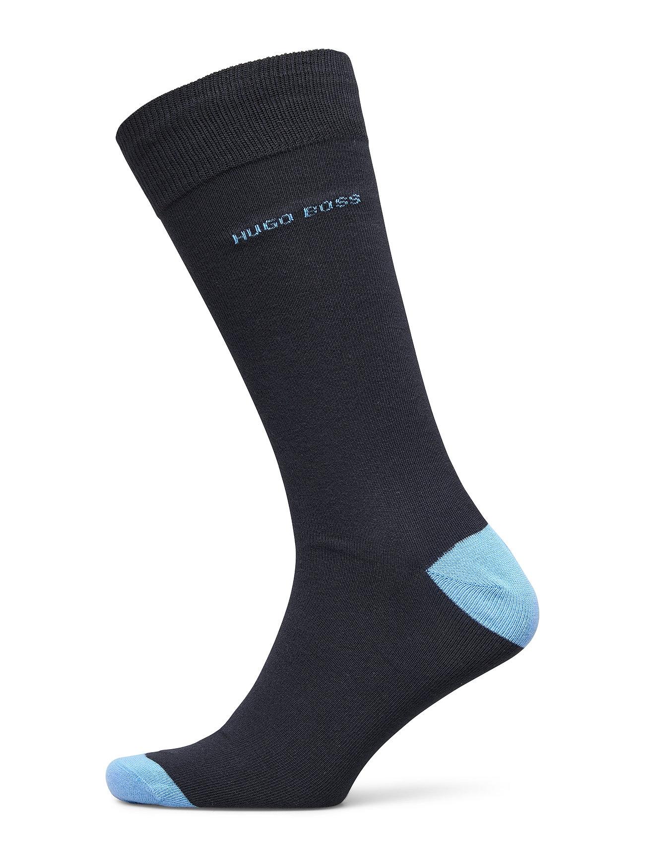 Image of 2p Rs Heel&Toe Cc Underwear Socks Regular Socks Blå BOSS (3430432699)
