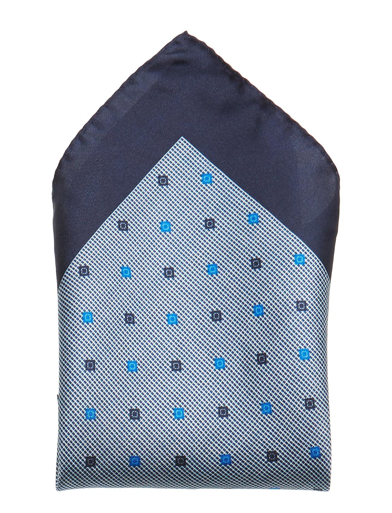 P.Sq. Cm33x33 Rolled Brystlommetørklæde Blå BOSS BUSINESS WEAR