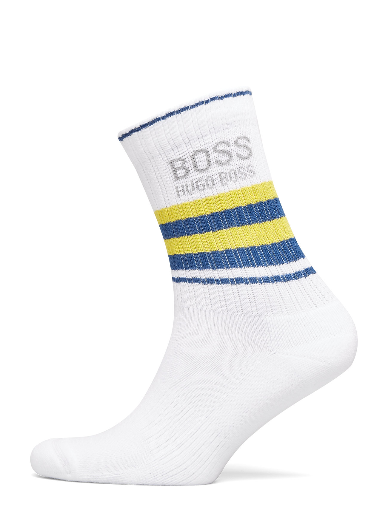 BOSS Business QS Rib Stripe CC - WHITE