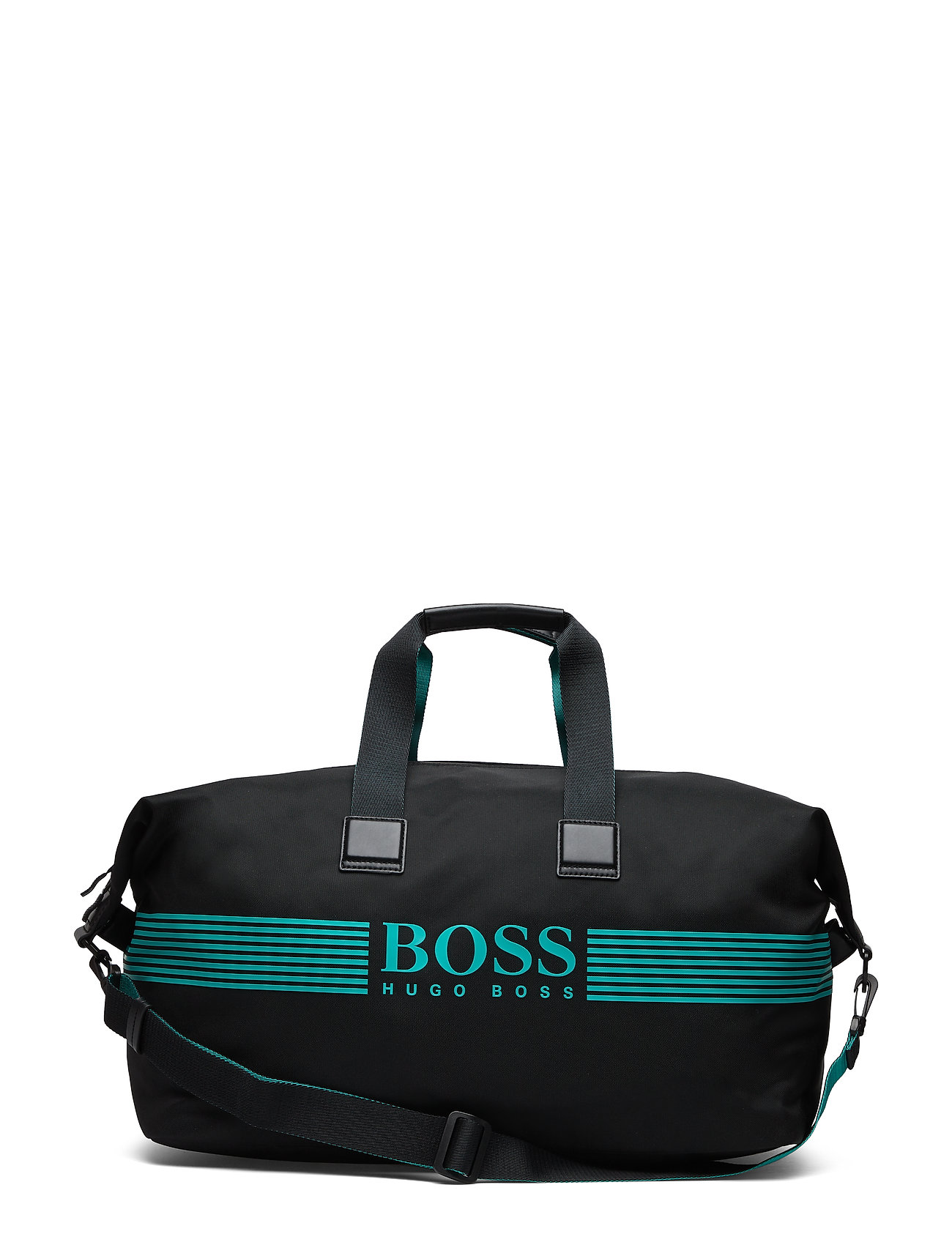 BOSS Business Pixel_Holdall WB - BLACK