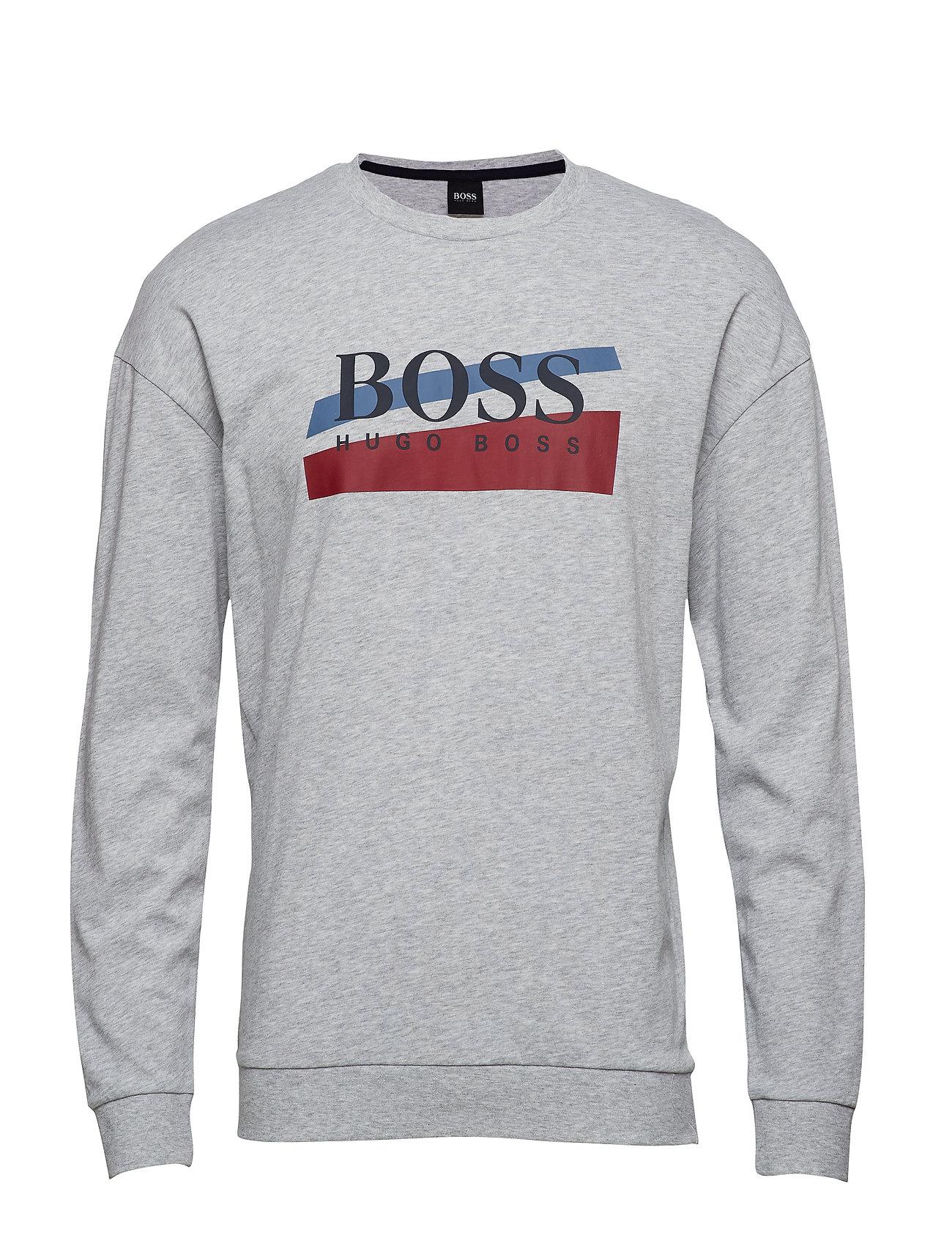 BOSS Business Wear Authentic Sweatshirt - MEDIUM GREY