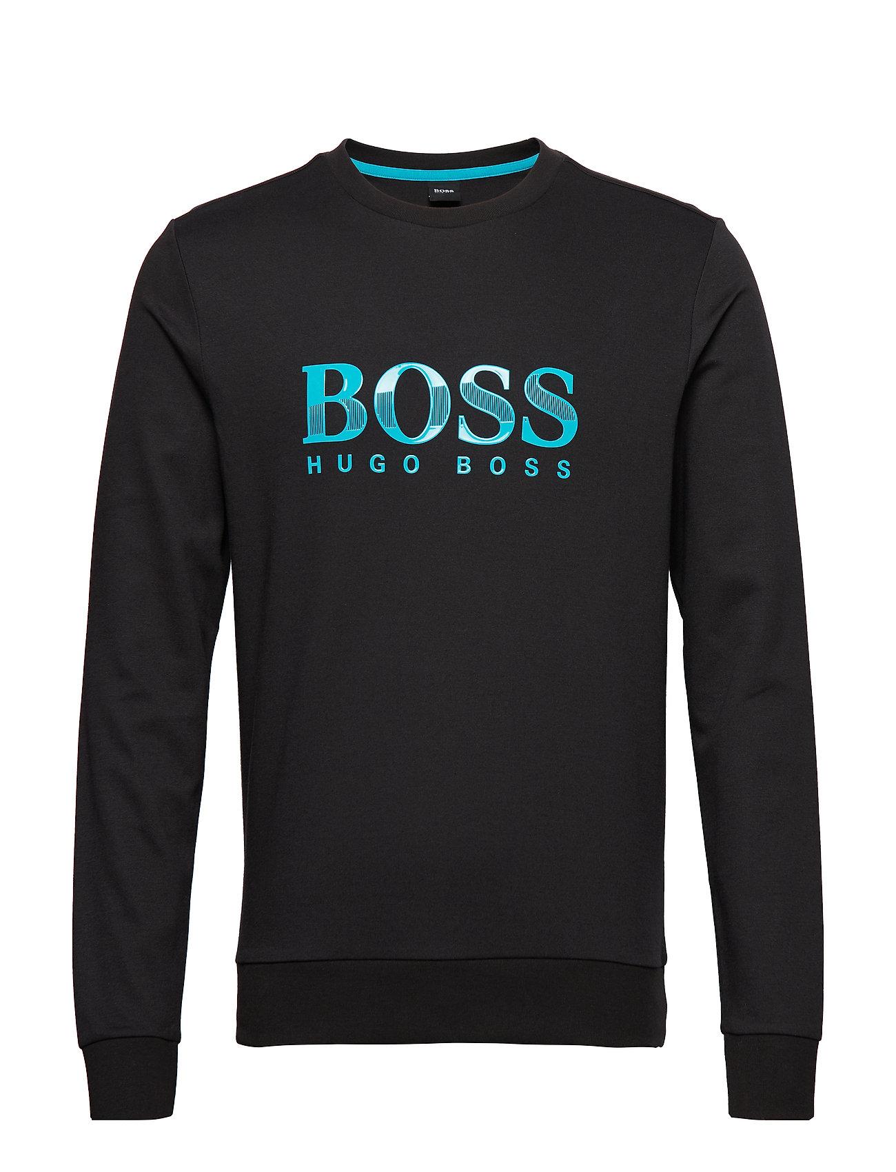 BOSS Business Wear Tracksuit Sweatshirt - BLACK