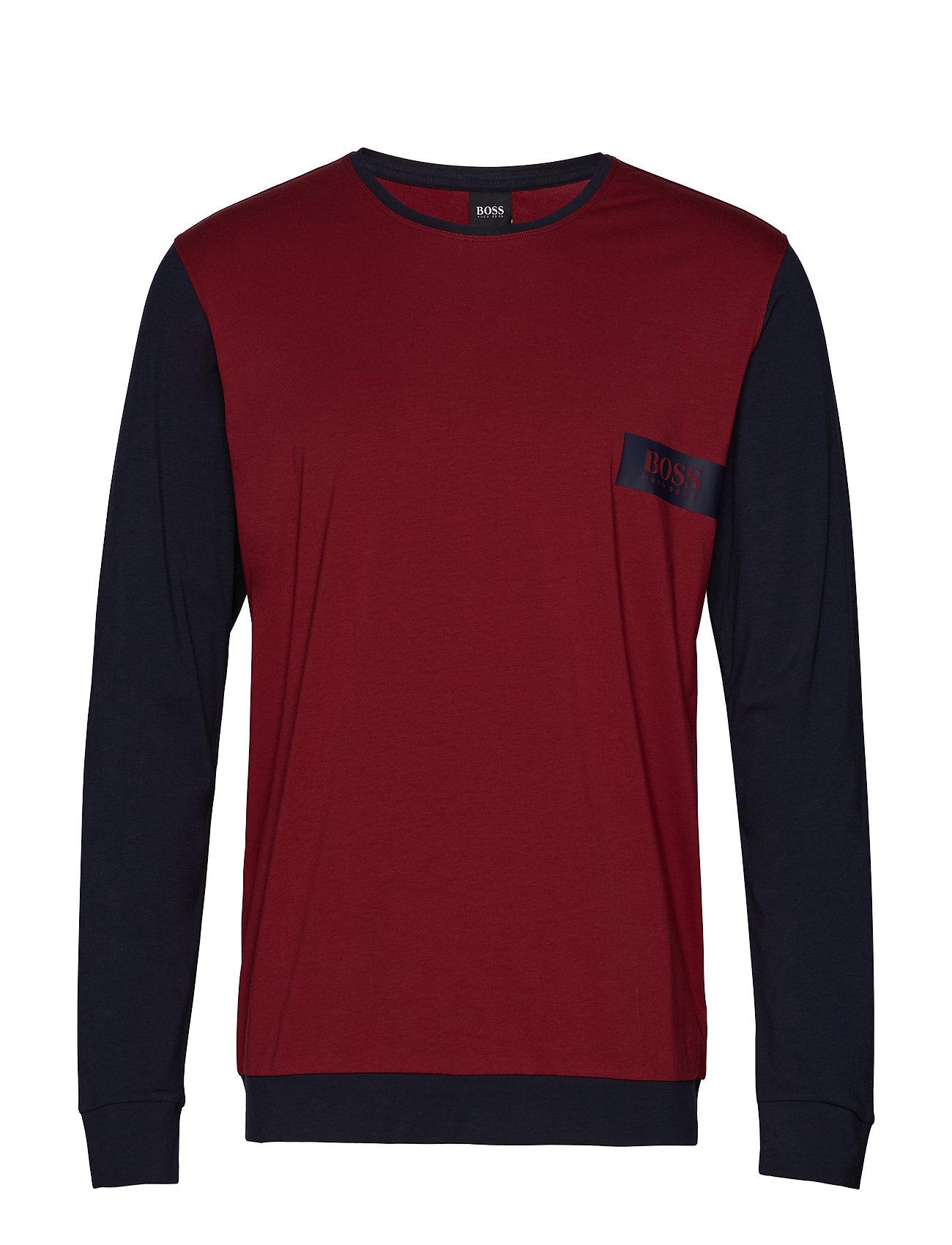 BOSS Business Wear Balance LS-Shirt RN - DARK RED