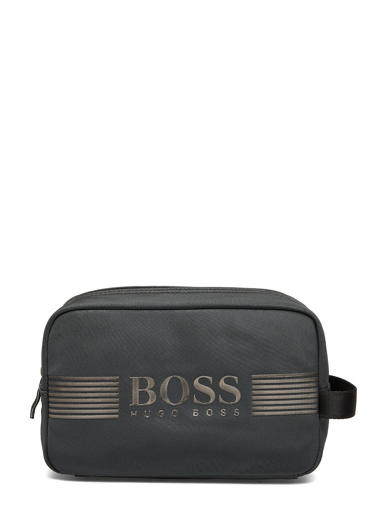 BOSS Business Wear Pixel ML_Washbag - DARK GREY