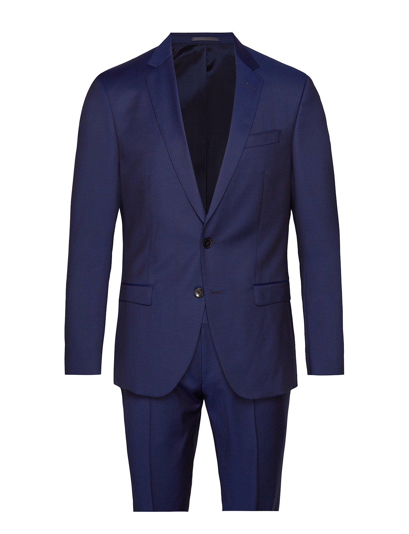 Image of Huge6/Genius5 Habitbukser Stylede Bukser Blå BOSS BUSINESS WEAR (3201168757)