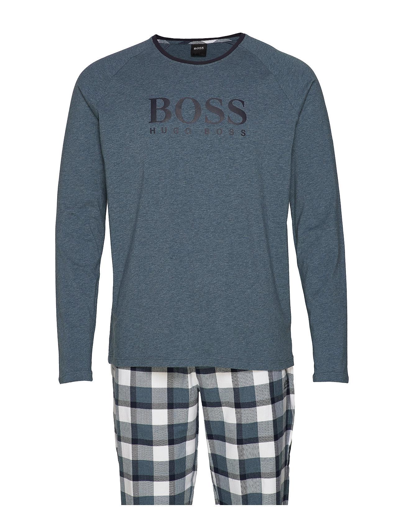 BOSS Business Wear Cosy Long Set - MEDIUM BLUE