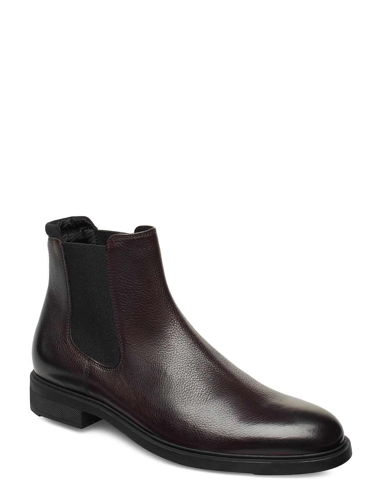 BOSS - Firstclass_Cheb_gr - chelsea boots - dark brown - 0