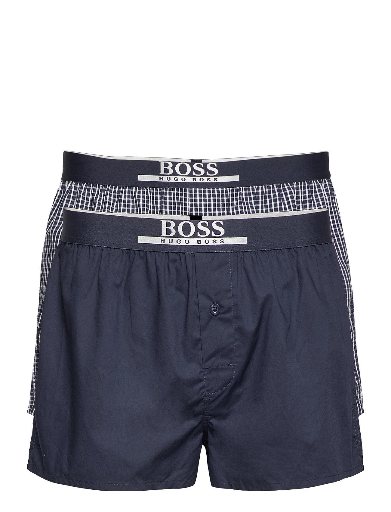 Image of 2p Boxer Shorts Ew Boxershorts Blå BOSS (3467806621)