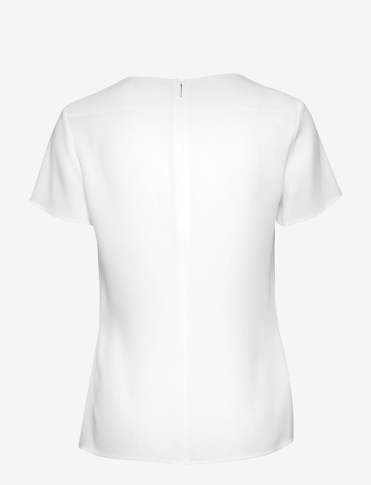 BOSS - Ilyna - blūzes ar īsām piedurknēm - open white - 1
