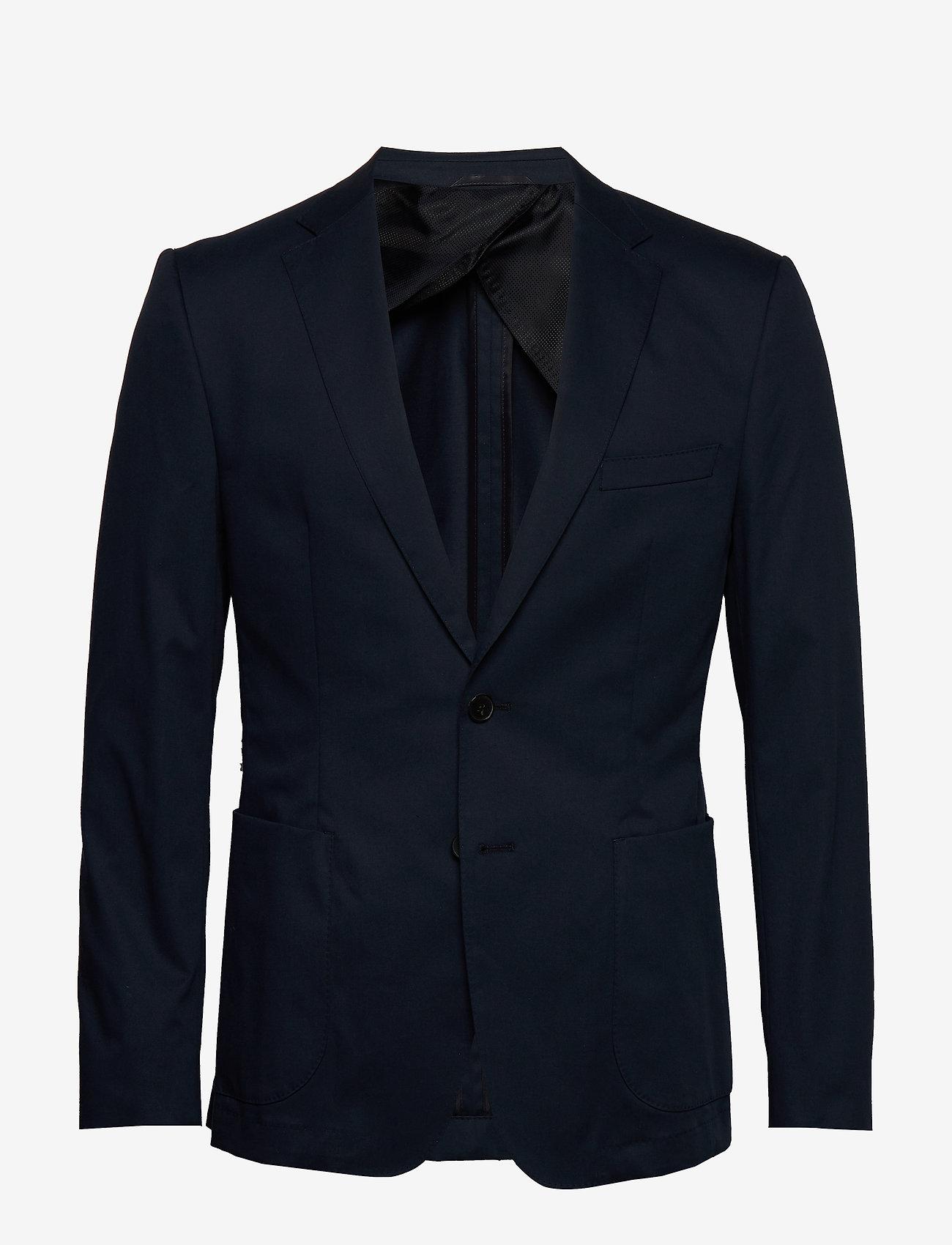 BOSS - Nayson_cyl - enkeltradede blazere - dark blue - 0
