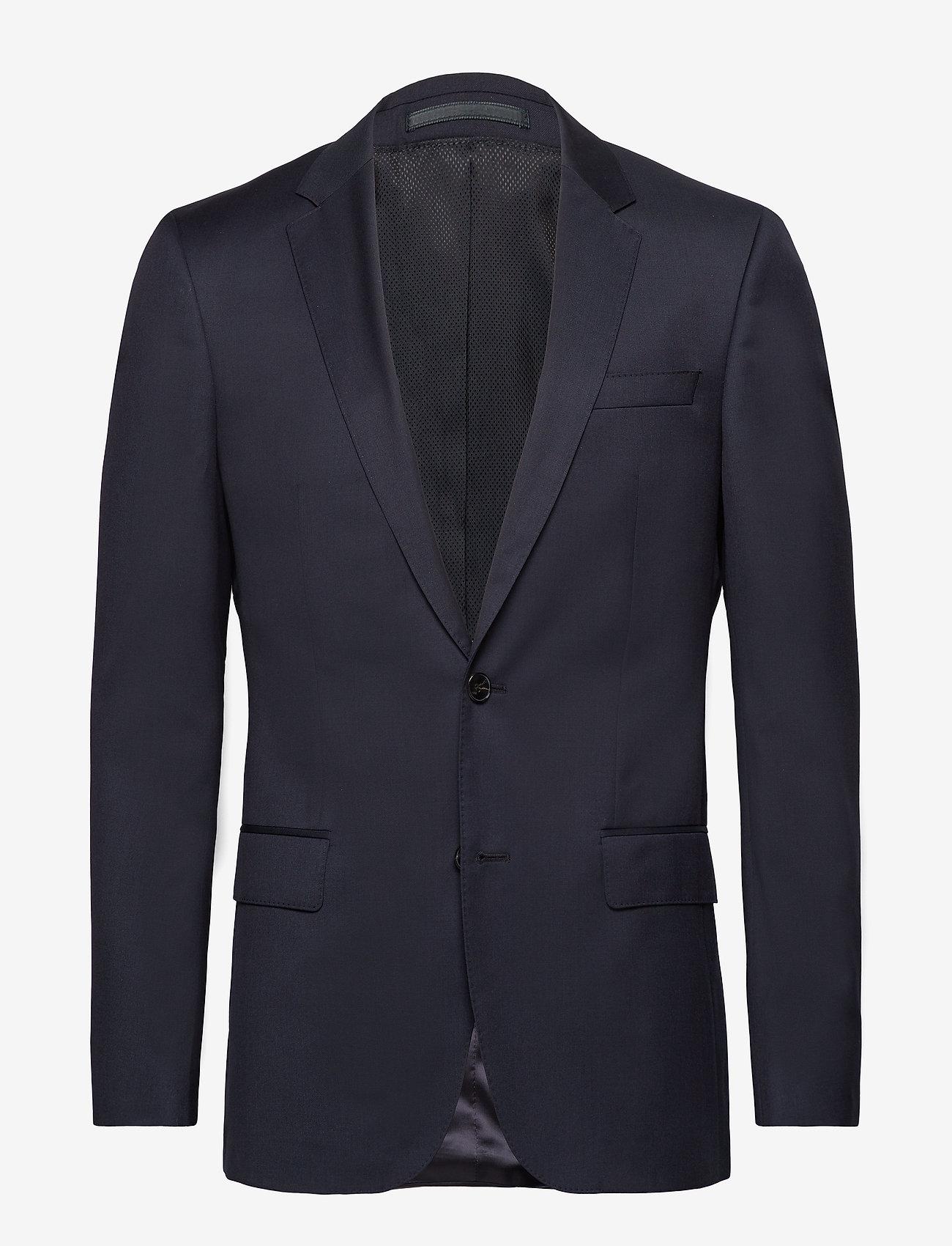BOSS - Hayes_cyl - enkeltradede jakkesæt - dark blue - 0