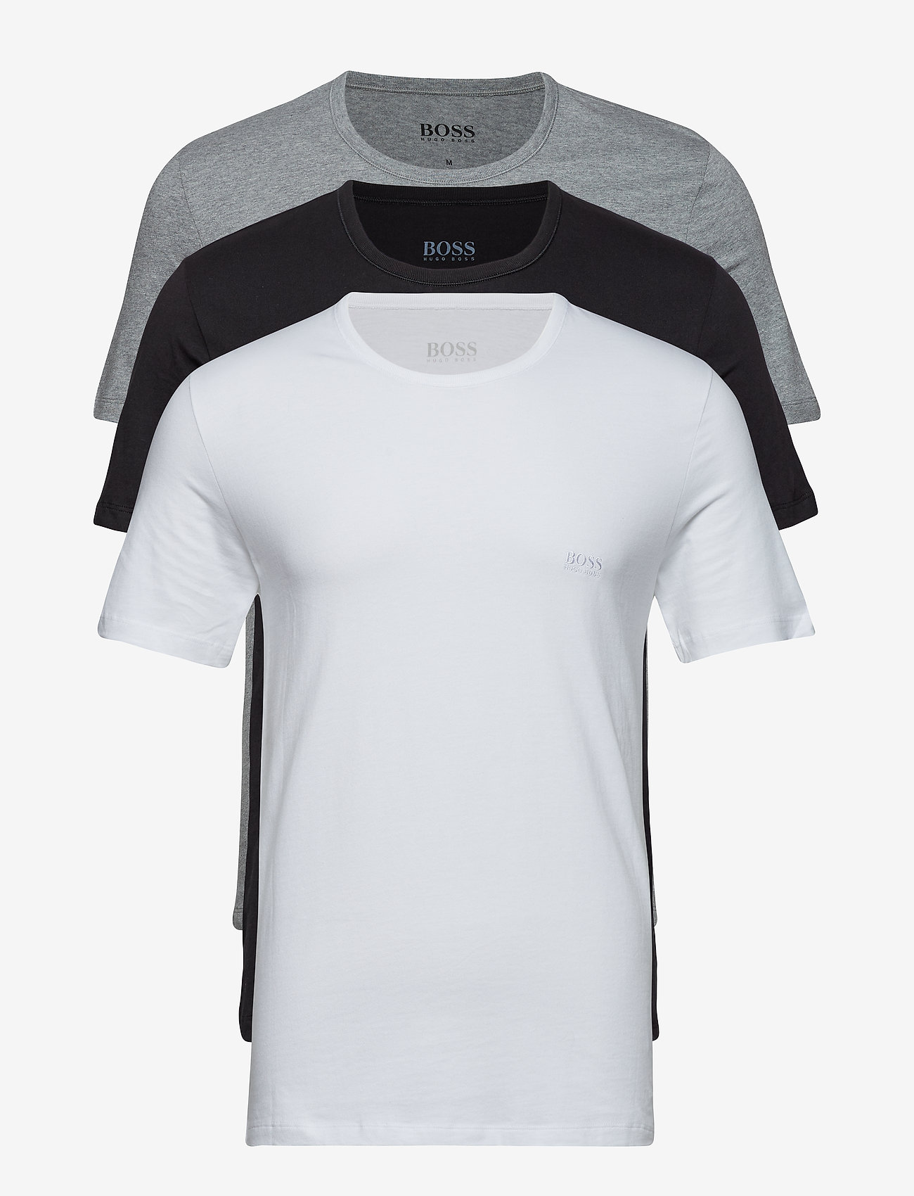 BOSS - T-Shirt RN 3P CO - multipack - assorted pre-pack - 1