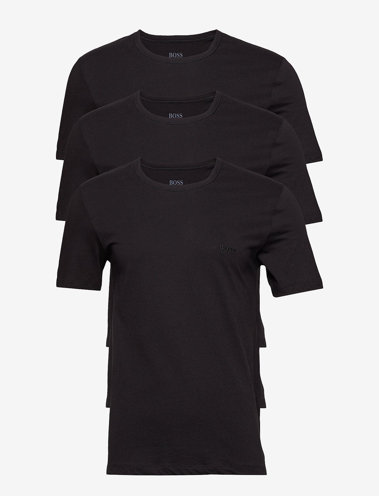 BOSS - T-Shirt RN 3P CO - multipack - black - 1