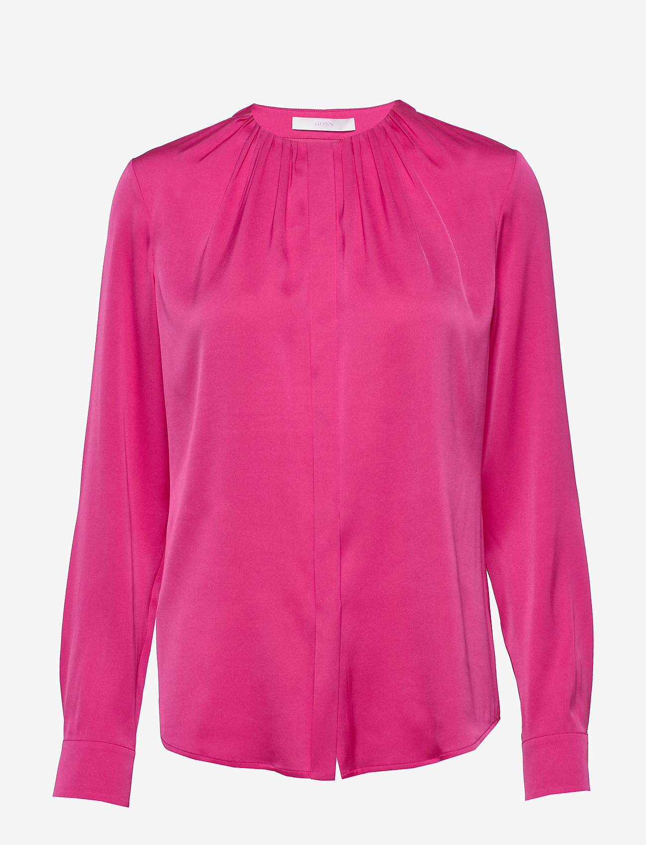 BOSS - Banora8 - langærmede bluser - bright pink - 0