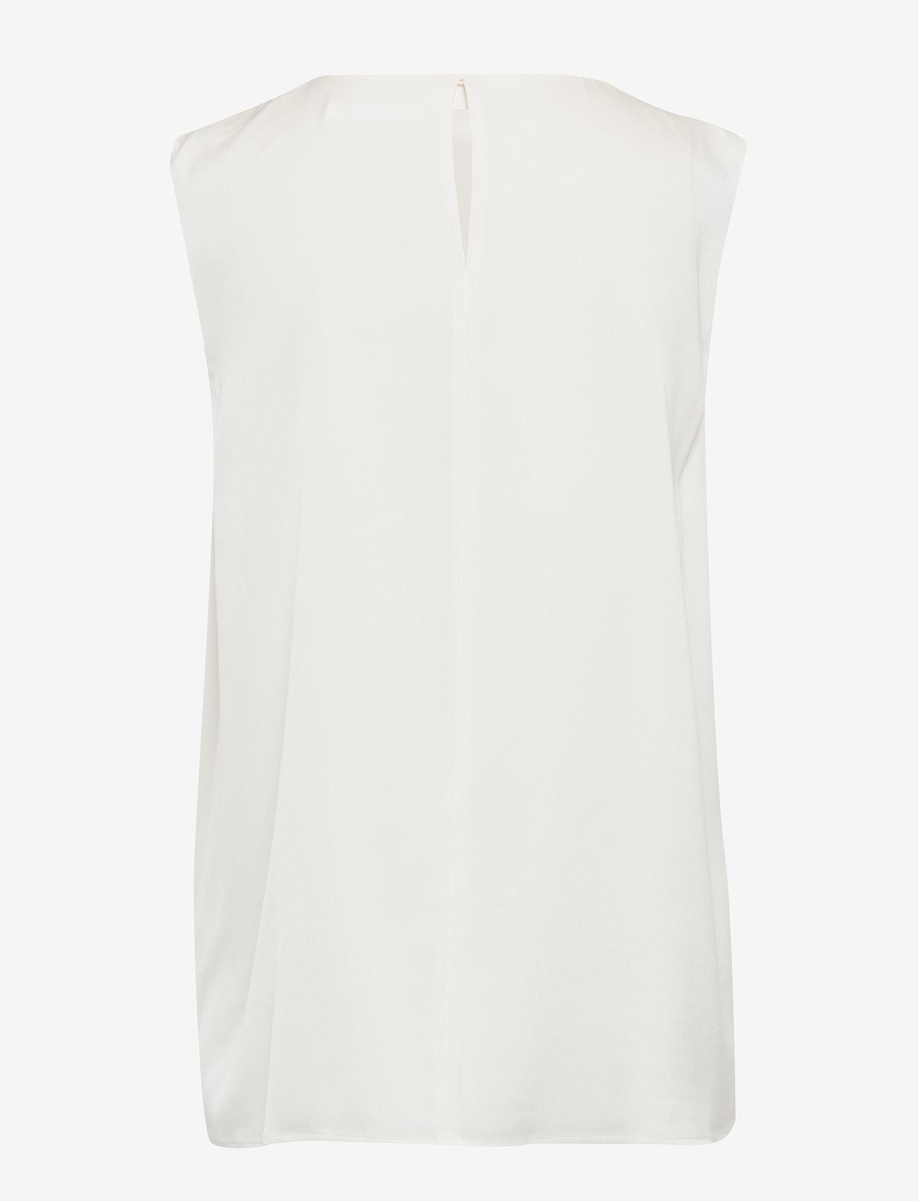 BOSS - Irayna - Ærmeløse bluser - open white - 1