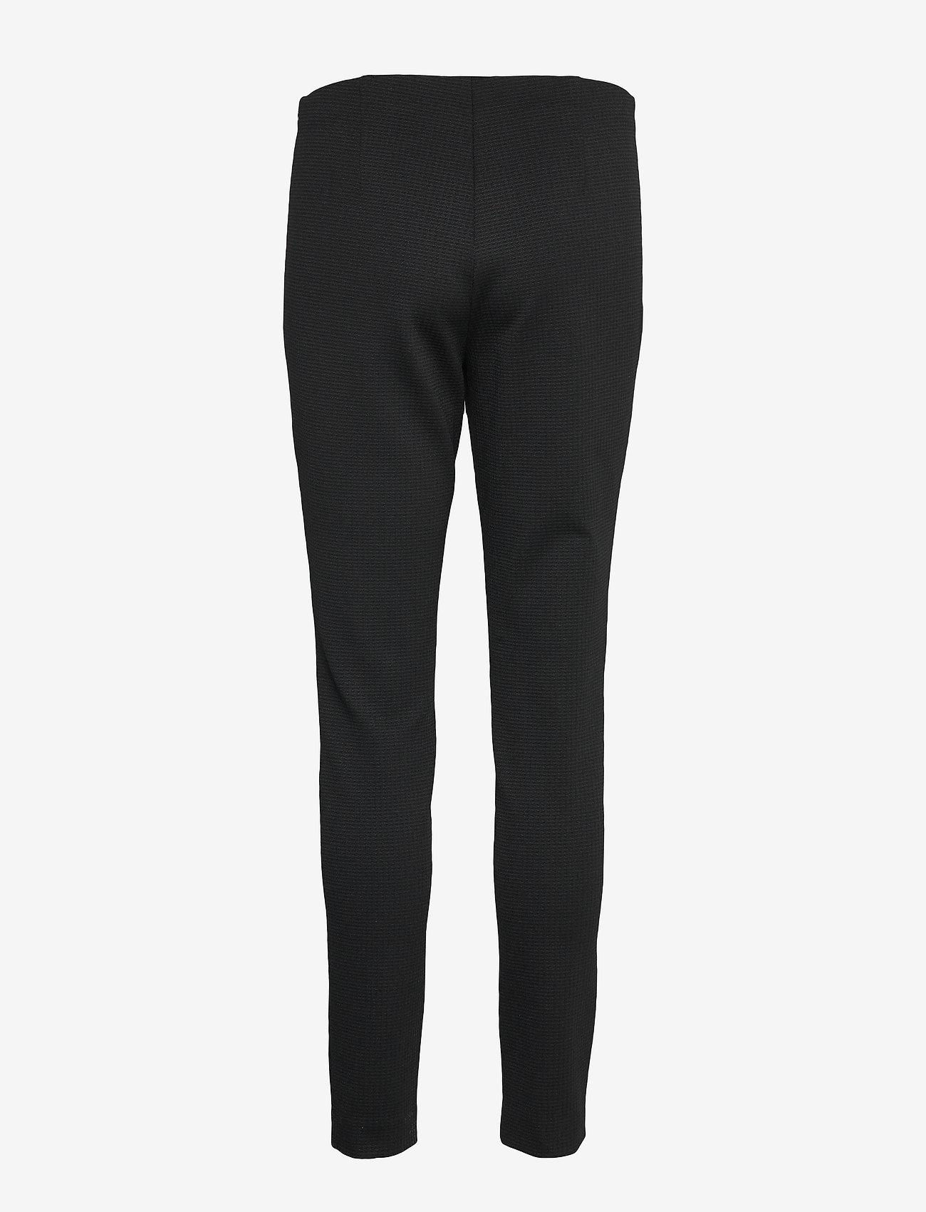 BOSS - Telestana - bukser med lige ben - black - 1
