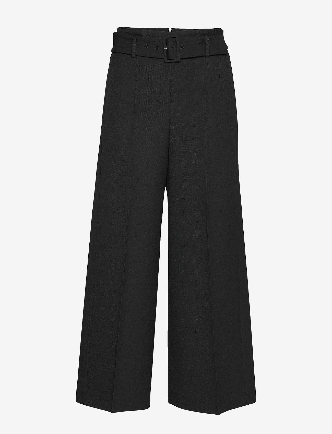BOSS - Trima1 - bukser med brede ben - black - 0