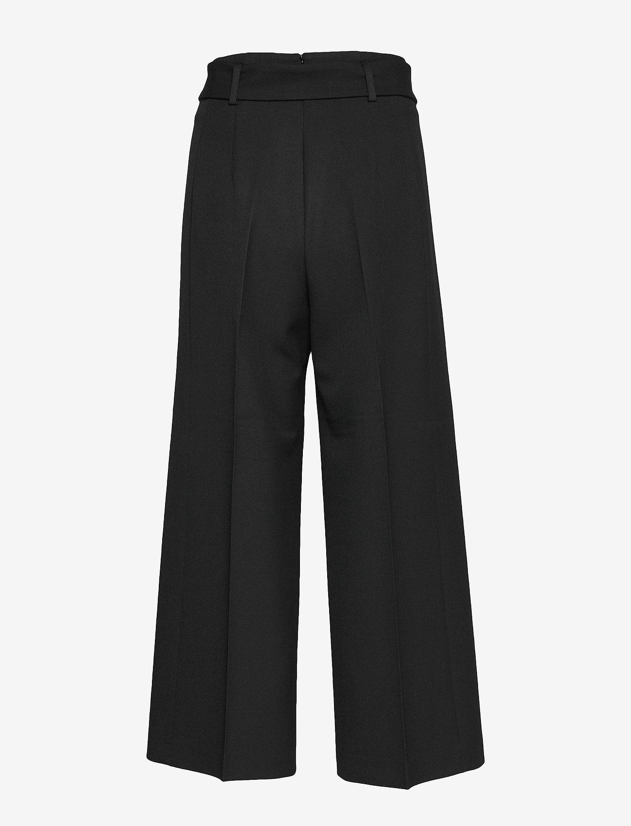 BOSS - Trima1 - bukser med brede ben - black - 1