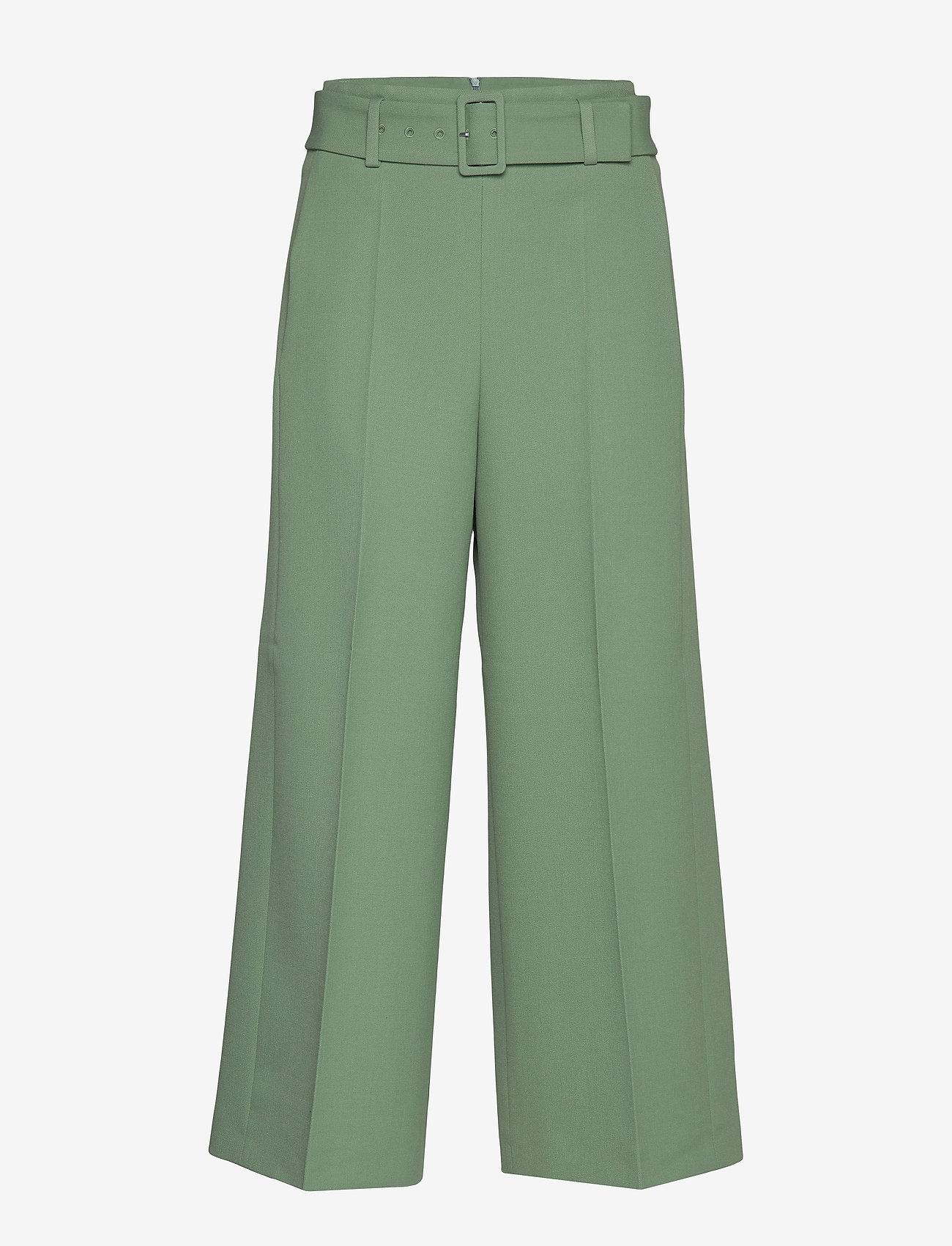 BOSS - Trima1 - bukser med brede ben - light/pastel green - 1