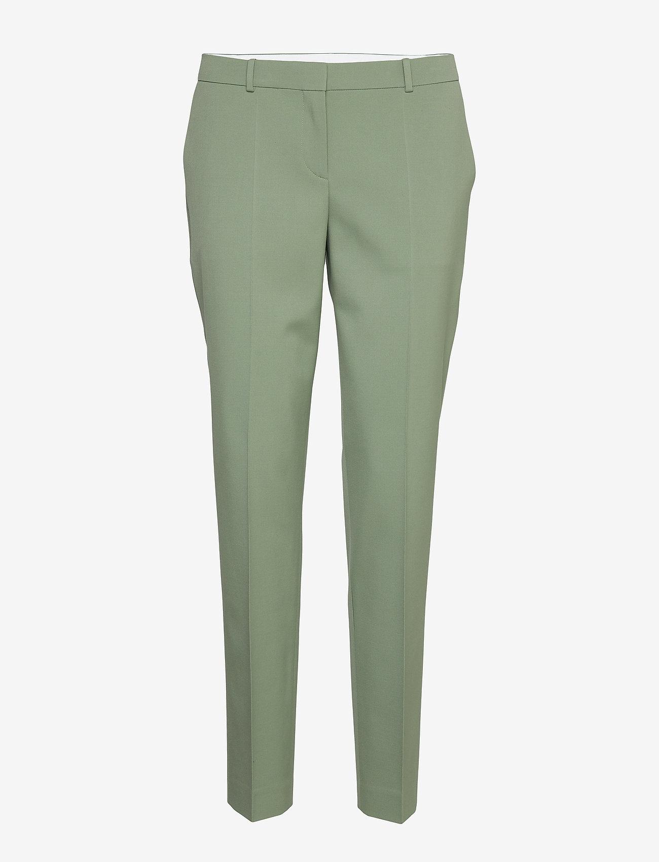 BOSS - Tiluna11 - bukser med lige ben - light/pastel green - 0