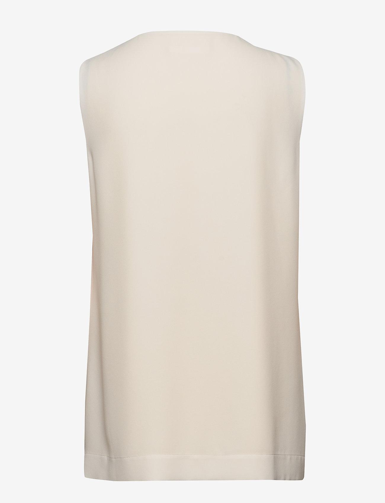 BOSS - Irvetta - Ærmeløse bluser - open white - 1
