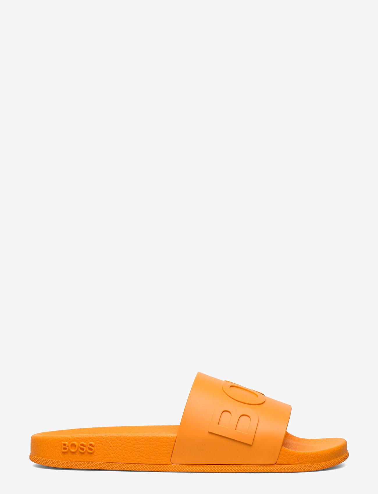 BOSS - Bay_Slid_rblg - pool sliders - bright orange - 1