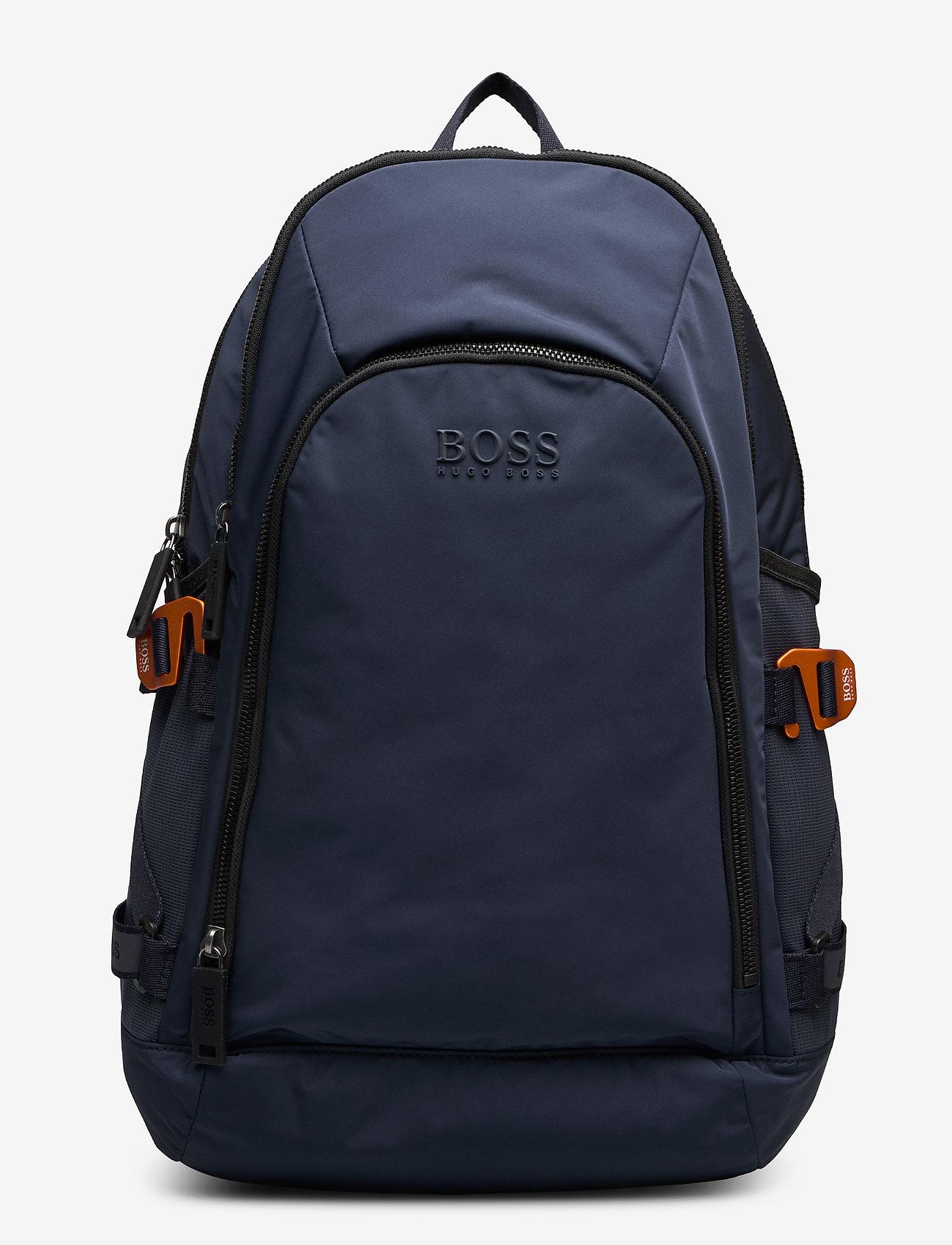 BOSS - Krone_Backpack - rygsække - navy - 0