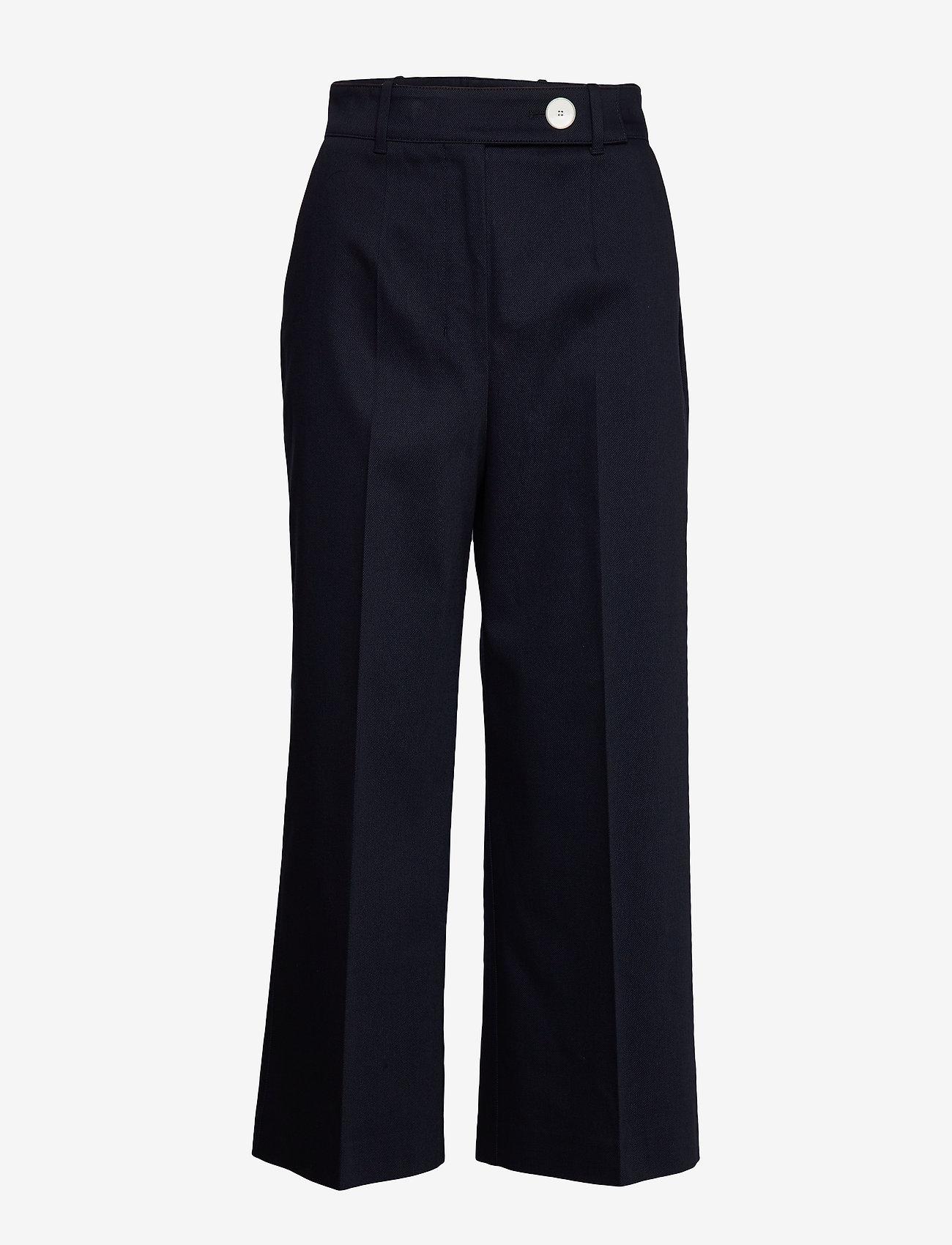 BOSS - Tapima - bukser med brede ben - open blue - 0