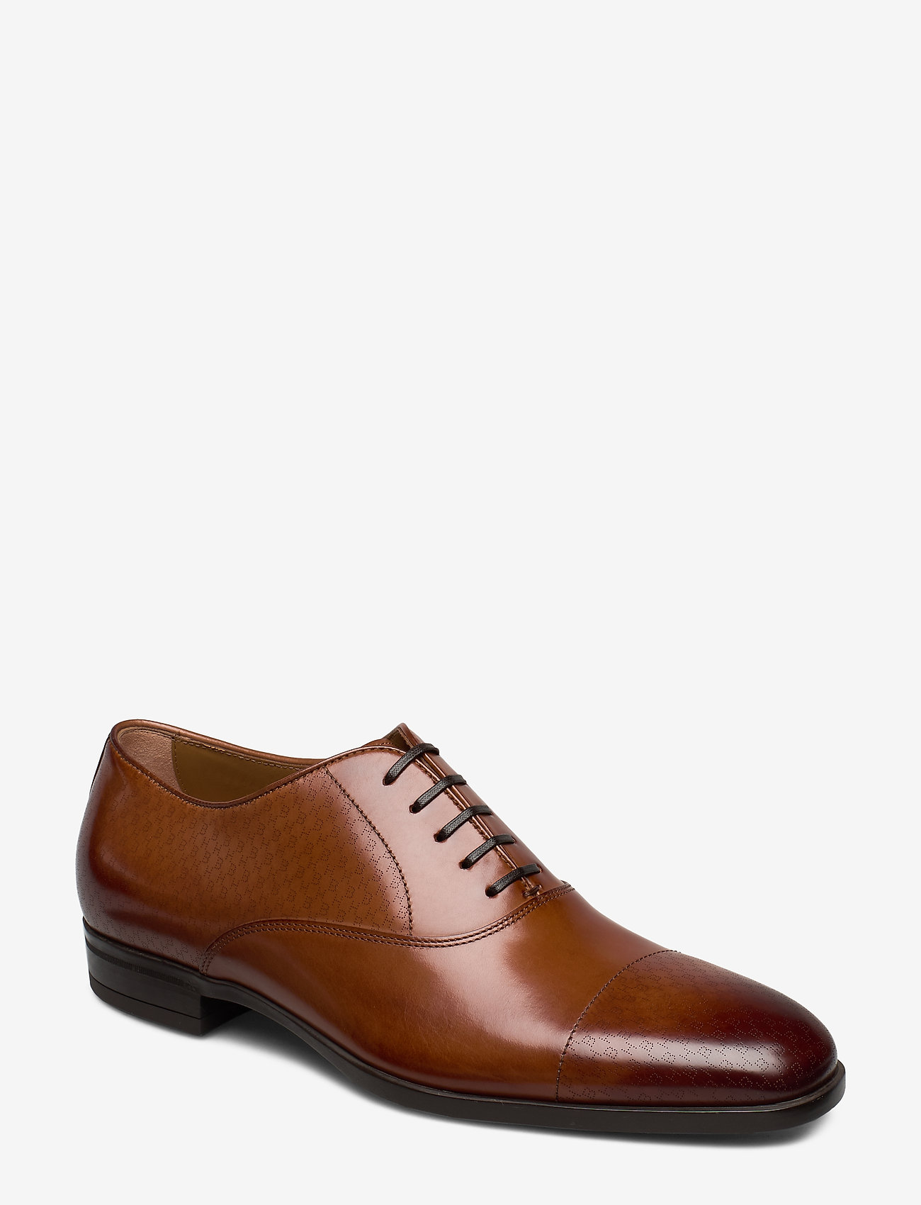 BOSS - Kensington_Oxfr_hbls - snøresko - medium brown - 0
